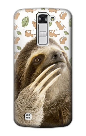 Printed Sloth Pattern LG G Stylo Case