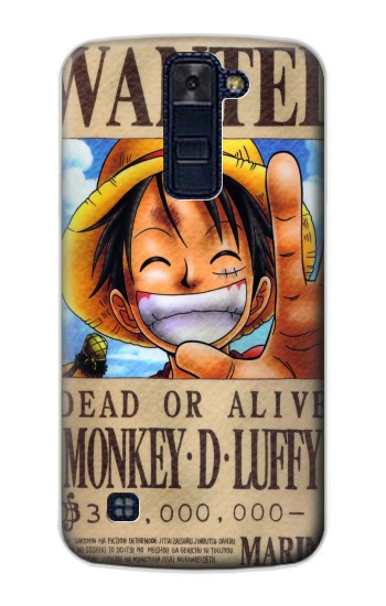 Printed One Piece Monkey D Luffy Wanted Poster LG AKA Case