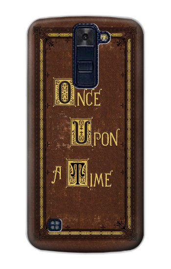 Printed Once Upon a Time Book Cover LG AKA Case