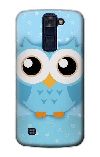 Printed Cute Blue Owl LG AKA Case