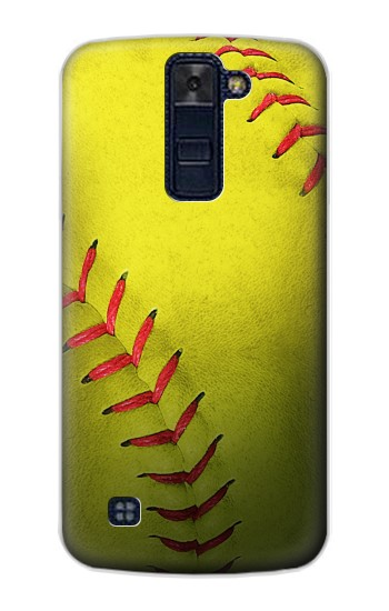 Printed Yellow Softball Ball LG AKA Case