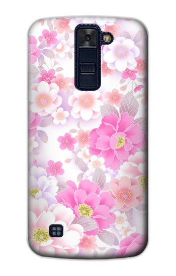 Printed Pink Sweet Flower Flora LG AKA Case