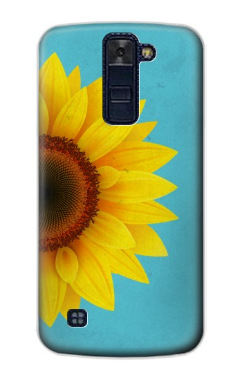 Printed Vintage Sunflower Blue LG AKA Case