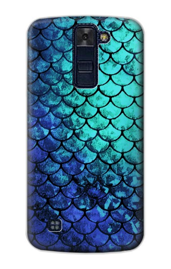 Printed Green Mermaid Fish Scale LG AKA Case