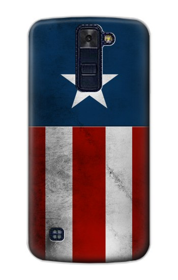 Printed Captain Star Flag of America LG AKA Case