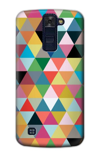 Printed Triangles Vibrant Colors LG AKA Case