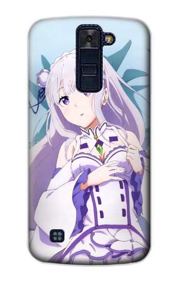 Printed Emilia Re Zero Starting Life in Another World LG AKA Case