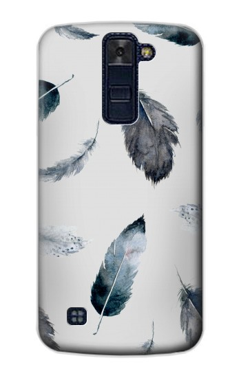 Printed Feather Paint Pattern LG AKA Case