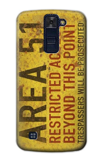 Printed Area 51 Restricted Access Warning Sign LG AKA Case
