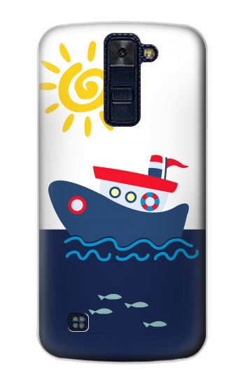Printed Cartoon Fishing Boat LG AKA Case