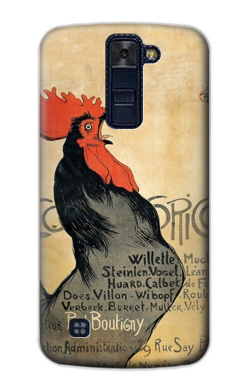 Printed Cocorico Rooster Vintage French Poster LG AKA Case