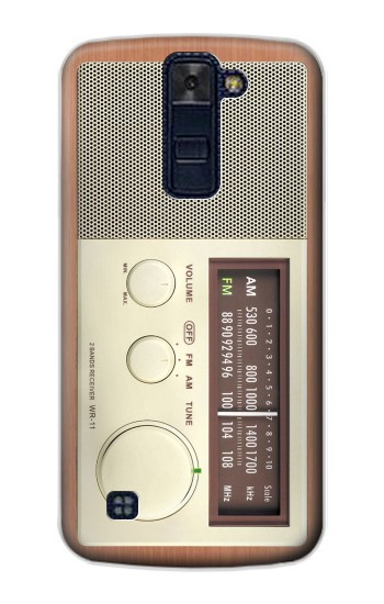 Printed FM AM Wooden Receiver Graphic LG AKA Case
