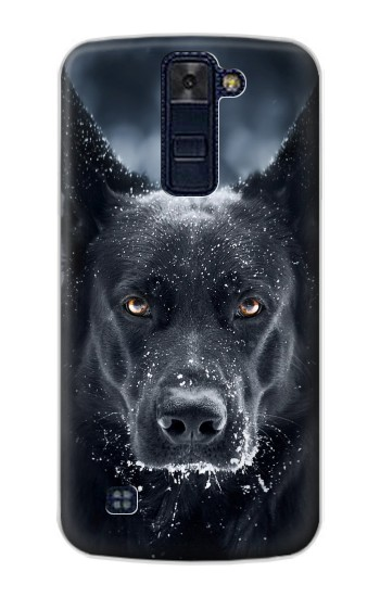 Printed German Shepherd Black Dog LG AKA Case