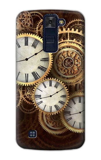 Printed Gold Clock Live LG AKA Case