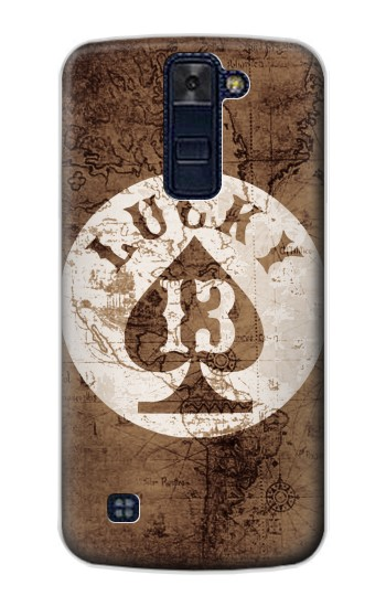 Printed Lucky 13 Old Map LG AKA Case