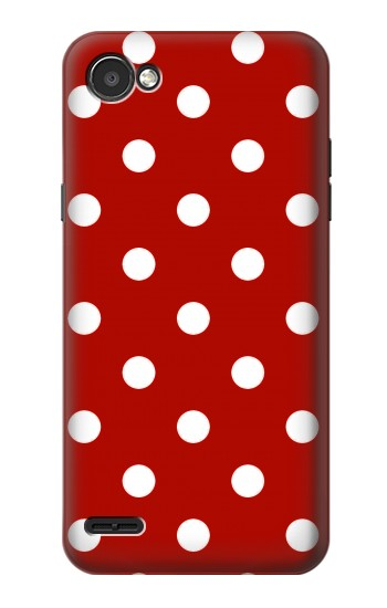 Printed Red Polka Dots LG G2 Mini Case