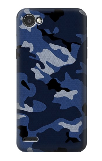 Printed Navy Blue Camouflage LG G2 Mini Case