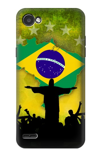 Printed Brazil Football Flag LG G2 Mini Case