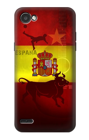 Printed Spain Football Flag LG G2 Mini Case