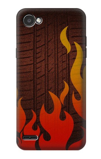 Printed Rally Car Tire LG G2 Mini Case