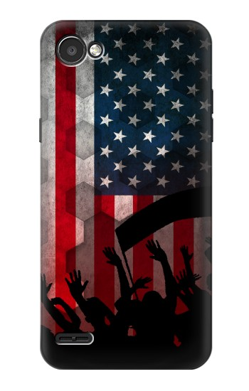 Printed USA American Football Flag LG G2 Mini Case