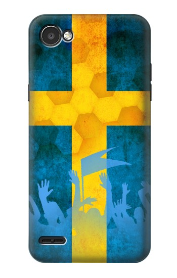 Printed Sweden Football Flag LG G2 Mini Case
