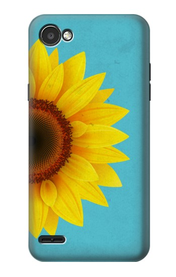 Printed Vintage Sunflower Blue LG G2 Mini Case