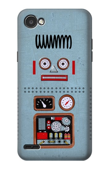 Printed Retro Robot Toy LG G2 Mini Case