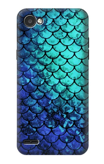 Printed Green Mermaid Fish Scale LG G2 Mini Case