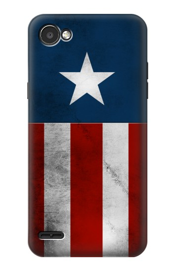 Printed Captain Star Flag of America LG G2 Mini Case