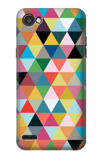 Printed Triangles Vibrant Colors LG G2 Mini Case