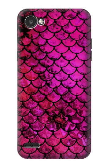 Printed Pink Mermaid Fish Scale LG G2 Mini Case