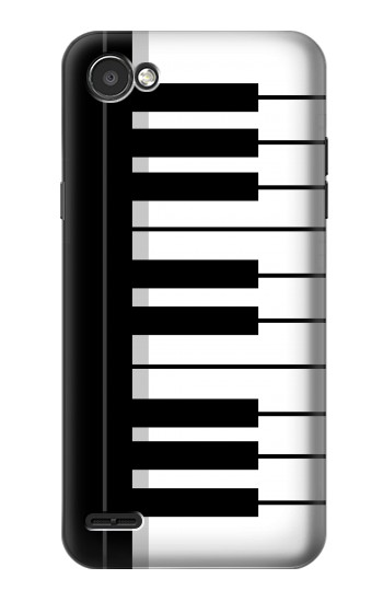 Printed Black and White Piano Keyboard LG G2 Mini Case