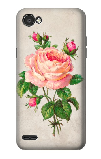 Printed Vintage Pink Rose LG G2 Mini Case