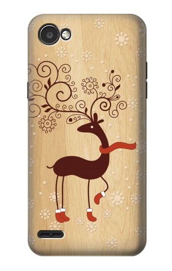 Printed Wooden Raindeer LG G2 Mini Case