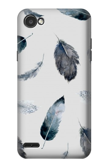 Printed Feather Paint Pattern LG G2 Mini Case