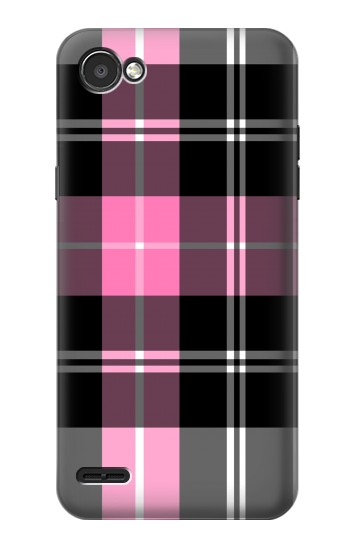 Printed Pink Plaid Pattern LG G2 Mini Case