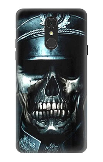 Printed Skull Soldier Zombie LG Q7 Case