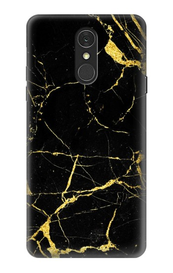 Printed Gold Marble Graphic Printed LG Q7 Case