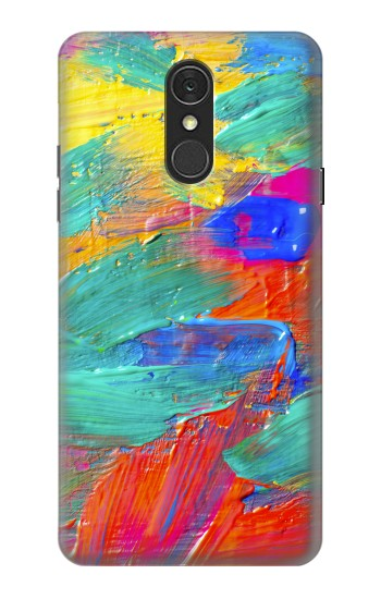 Printed Brush Stroke Painting LG Q7 Case