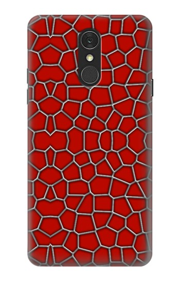 Printed Red Spider Texture LG Q7 Case
