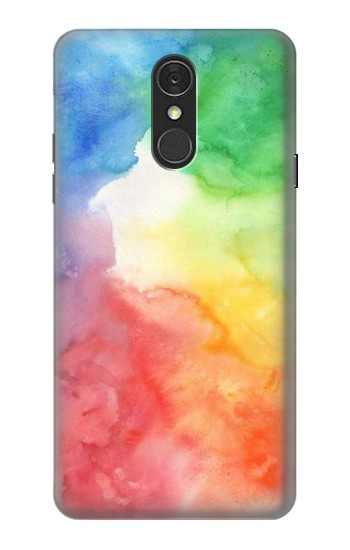 Printed Colorful Watercolor LG Q7 Case