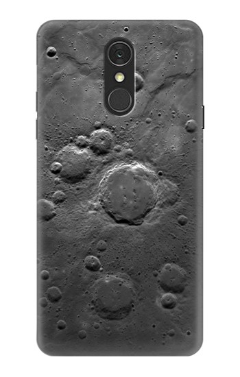 Printed Moon Surface LG Q7 Case