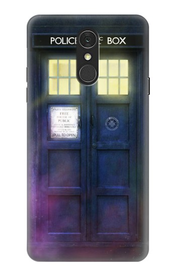 Printed Tardis Phone Box LG Q7 Case