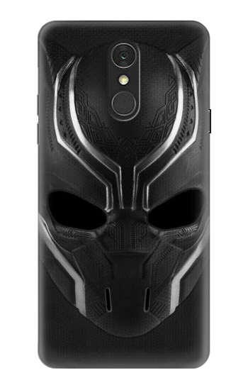 Printed Black Panther Mask LG Q7 Case