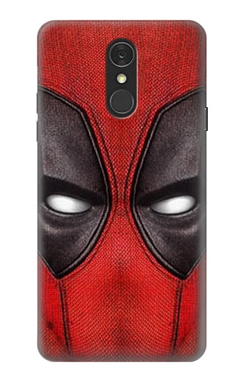 Printed Deadpool Mask LG Q7 Case