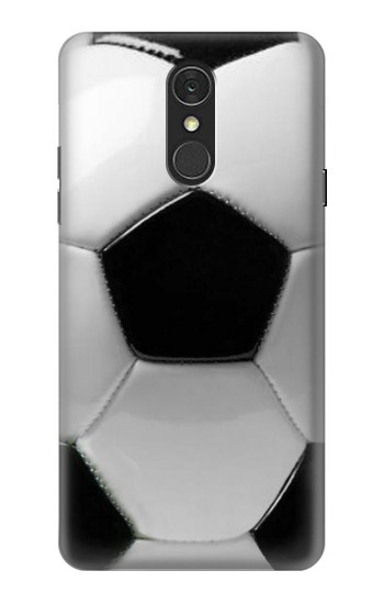 Printed Soccer Football Ball LG Q7 Case