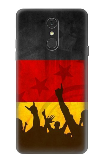 Printed Germany Football Flag LG Q7 Case