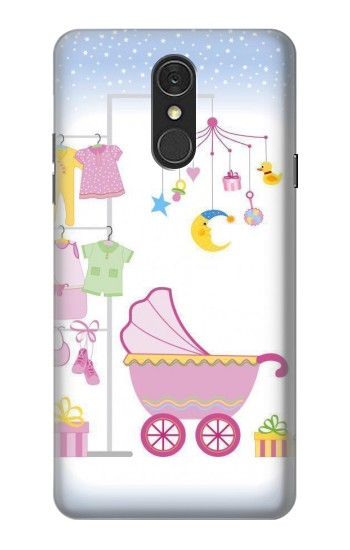 Printed Baby Supplies LG Q7 Case