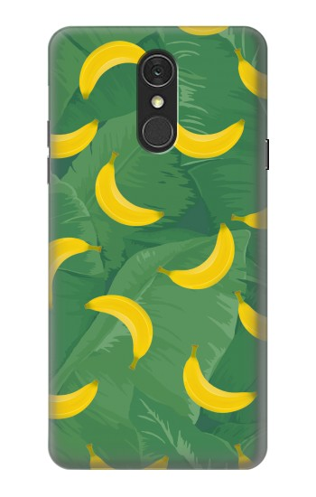 Printed Banana Fruit Pattern LG Q7 Case